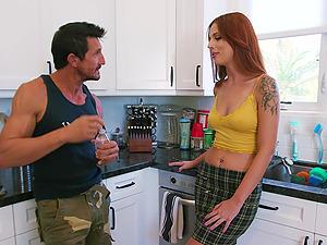 Scarlett Mae Fucks The Gardener