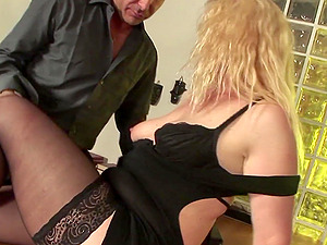 Sunny Mckay gets her butt destroyed with a friend's hard penis