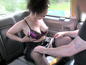 Kloe White gets her cunt fucked and licked in the stranger's car