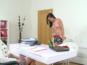 Sexy Diore Rreali is ready for a lesbian sex and orgasm with Chris QK