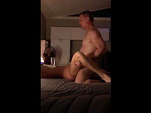 Video of my wife getting fucked by another guy without a condom while I watch.