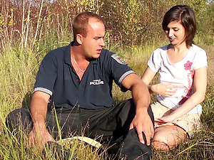 Picnic in the nature turns to unforgettable sex adventure for this couple
