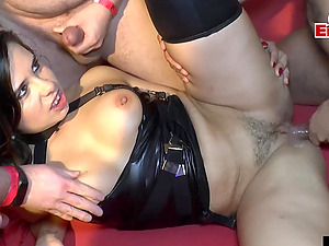 german creampie gangbang and groupsex orgy