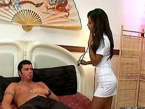 Purrfectly shaped Nyomi Marcela has sultry romp