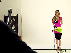 Ral hot girly-girl catfight on the casting