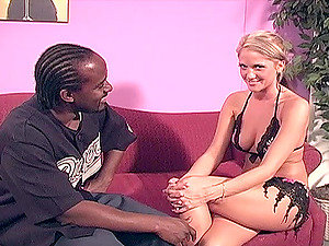 Pretty blonde Spring Thomas gets her pussy fucked in many poses