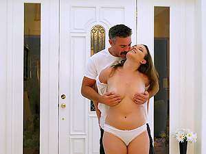 Breathtaking Lily Love likes hard fuck in all poses you can imagine