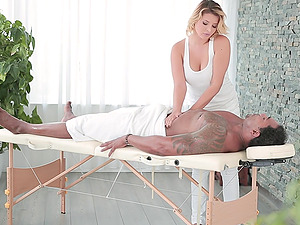 Black stud with a massive dick gets a chance to fuck Anna Polina