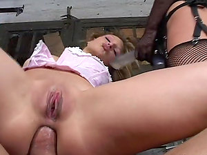 Katy Parker gives a oral job while having ardent anal invasion lovemaking