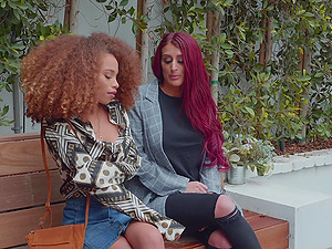 Kinky pornstars Cecilia Lion and Tana Lea love to pleasure themselves