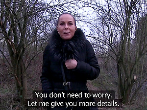 Hardcore amateur fucking in the nearby woods with Alicia Wild