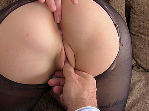 Adreena Winters fucked in all of her holes during the casting