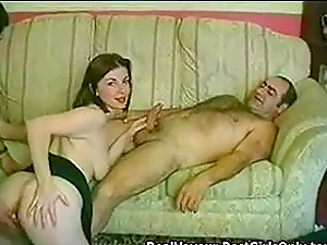 Dirty English Wife Fucks Hubby Friends 3Some