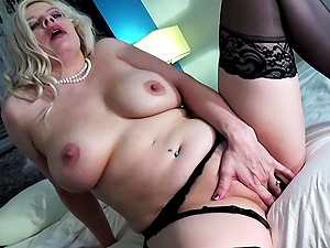 Hot Lesbian Dirty Talk and Solo Masturbation.