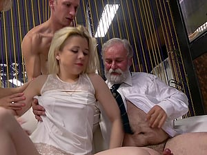 Two slutty wives love to be swapped by their horny husbands