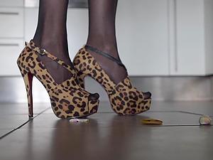 Shoes worship compilation (Mistress Kym)