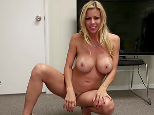 Alexis Fawx lets him finger her pussy while she gives a handjob