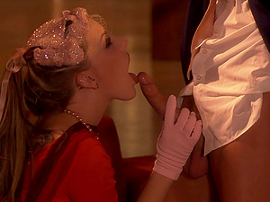 Erotic love making with amazing blowjob by blonde Felix Vicious