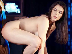 Erotic interracial sex with a large black cock and Valentina Nappi