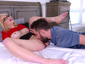 Rough fucking in bed with the cheating whore of a wife Tiffany Fox
