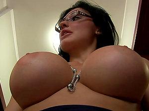 Aletta Ocean & Her Friend Tit Naked