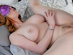 Ginger Milf And Her Girlfriend Sharing Cock