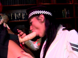 Dirty lesbian video between slutty Donna Marie and Natalia