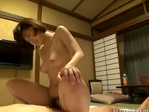Beautiful Lustful Japanese Stunner Fucked in Amazing Hookup Movie