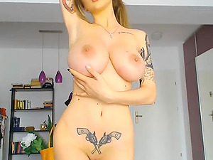 Lovely russian shows you what she got on webcam live