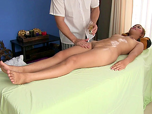Thai girl Nittaya came in for a full body massage today and what a treat it was!