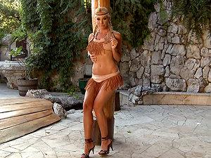 Porn industry stars Masturbating in Costumes - Hot Compilation