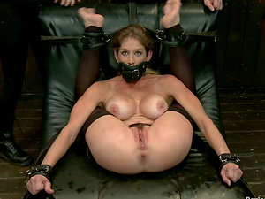 Extreme Domination & submission flick with stunning Felony getting tantalized