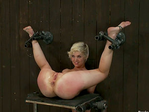 Lezzy Bang-out Subs End Up Spanked and Encaged for Being Mischievous