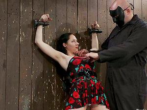 Crazy Restrain bondage and Torment Activity in Sadism & masochism Vid for Maggie Mayhem