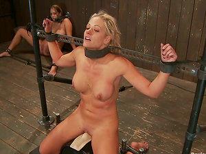 Indeed Kinky G/g Sadism & masochism Activity with Christina Carter and Trina Michaels