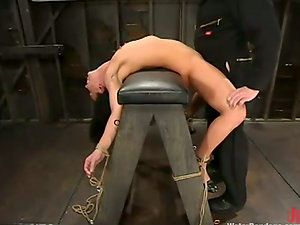 Kinky Julie Night gets tied up and then drowned in a bathtub