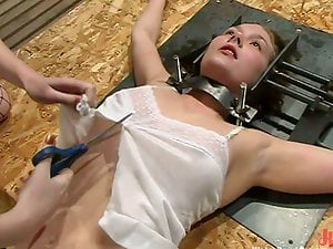 Starlet gets tormented and drowned in a basement and loves it