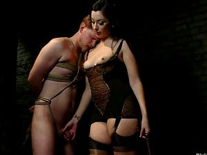 Female dom by January Seraph Completes with Fellow Strapon Fucked