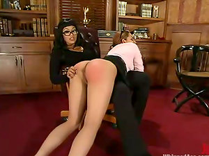 DragonLily penalizes hot Victoria Sweet in an office