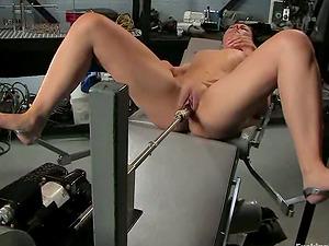 Eadie Sexwick is a new-cummer at fucking machines porno