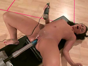 Fucking Machine Hump and Frolicking Activity for Brown-haired bianca Dagger