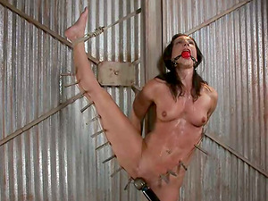 Wenona gets roped and splattered with hot paraffin wax in Domination & submission scene