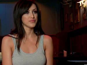 Sexy stunner Breanne Benson loves being tormented by Lorelei Lee