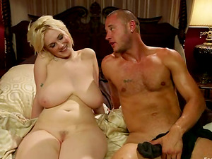 Female domination and Foot worship Joy in Porno Fuck-a-thon Vid with Big Titted Blonde