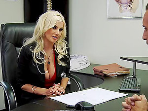 Dr.Andrews Gets Drilled A Patient With A Large Package