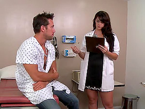 Patient Leaves Doc With Well Oiled Dick