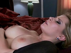 Huge-titted Trimmed Vagina Blonde Madison Ivy Hard-core Romp On Couch!