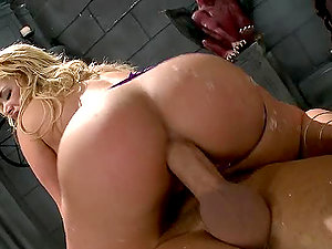 Amazing Ass-fuck Scene With Shyla Stylez And Kerian Lee