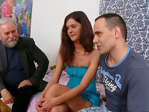 Nadya has an amazing romp with old fart in the eyes of her BF