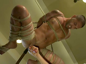 Gorgeous Dominic Pacifico gets his donk toyed by another man
